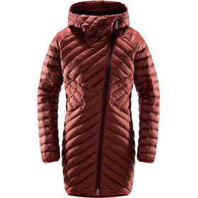 Haglöfs Dala Mimic Parka Women maroon red